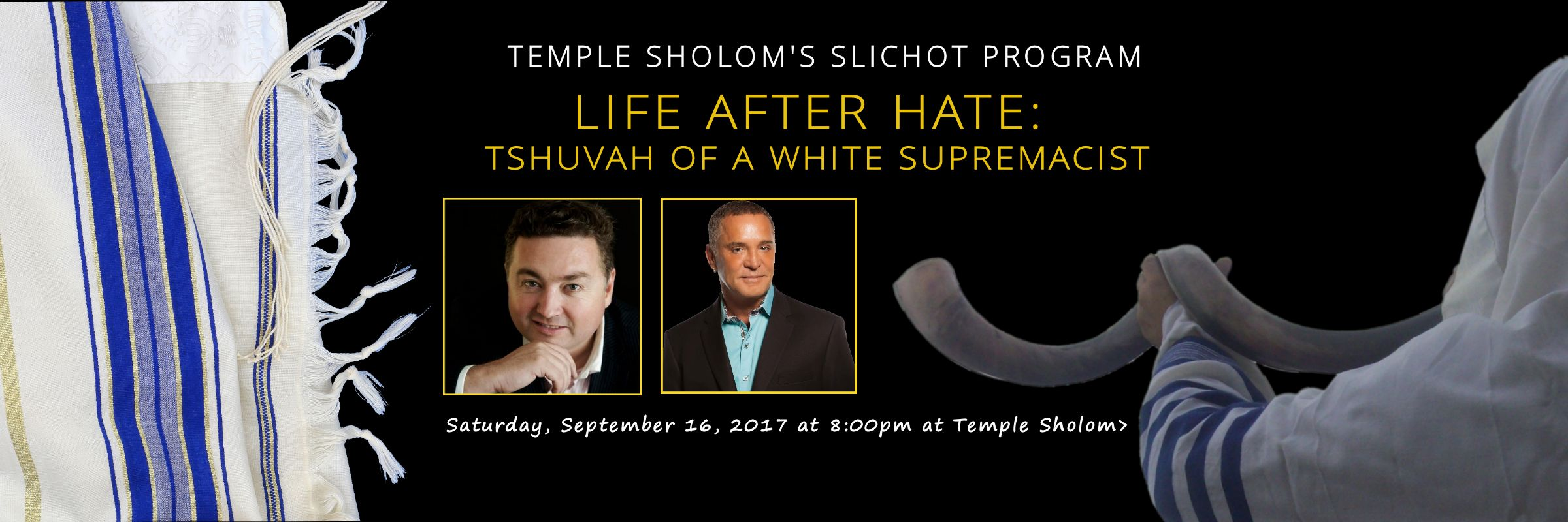 Life After Hate: Tshuvah of A White Supremacist